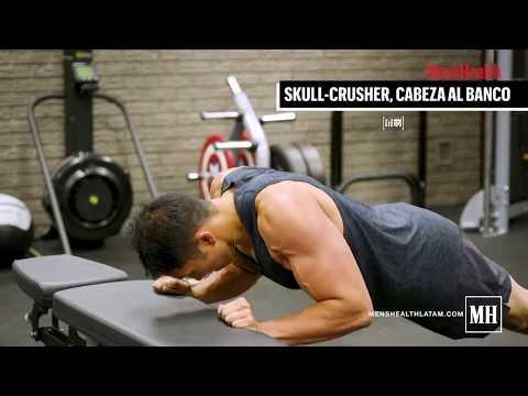 Rutina para agrandar los tríceps