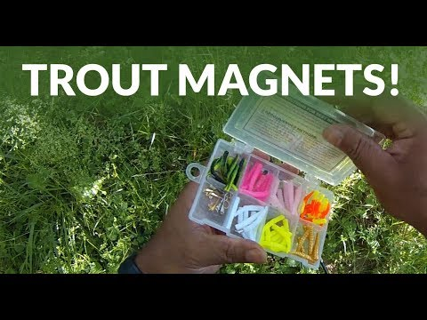 Trout Fishing - Trout Magnet Setup And Tips