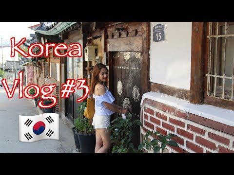 Korea vlog #3: Ngày cuối đi Bukchon Hanok village - Bay sang Nhật