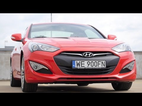 PL Hyundai Genesis Coupe 2013 3.8 FL test i jazda prbna
