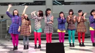 2012年1月21日@池袋サンシャインシティ 噴水広場でのデビューCD発売記...