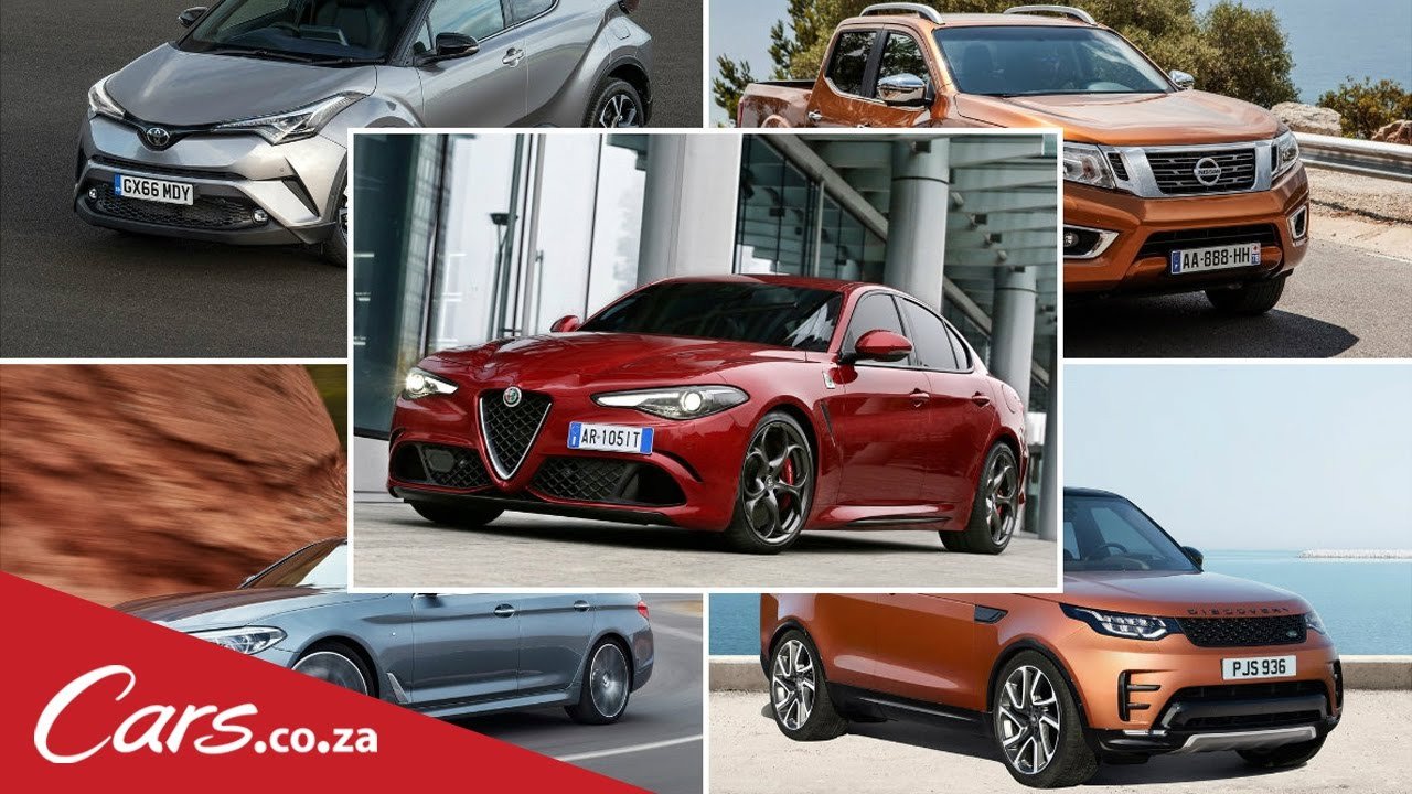 Five Exciting Cars coming to South Africa in 2017