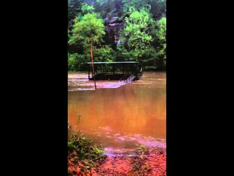 Flooded little red river