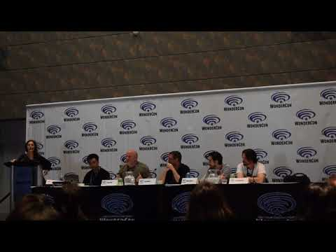 Wondercon 2018 : Mr  X's Guide to CGI Creature and Monster Creation panel