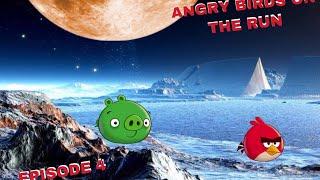 Angry Birds on The Run | Birds on moon