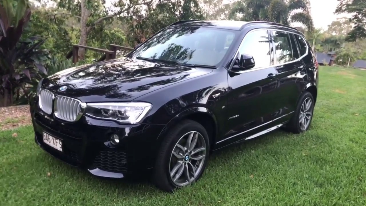 2017 bmw x3 30d start up and tour youtube. Black Bedroom Furniture Sets. Home Design Ideas