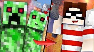 НЯША КРИПЕР ИЛИ ХЭДШОТ - ЧТО ЛУЧШЕ? | Майнкрафт Рэп Клип Грифер и Крипер Minecraft Song Animation