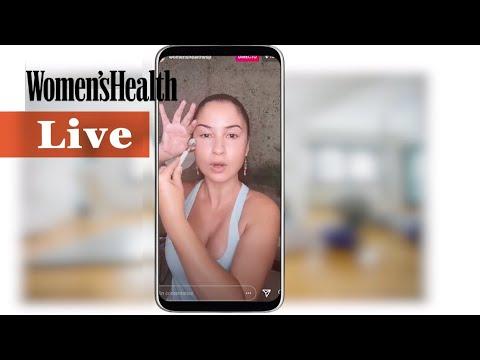 Ejericicios faciales con yoga | Women's Health España