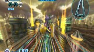 Sonic Riders Zero Gravity - Megalo Station(Time Attack): 02