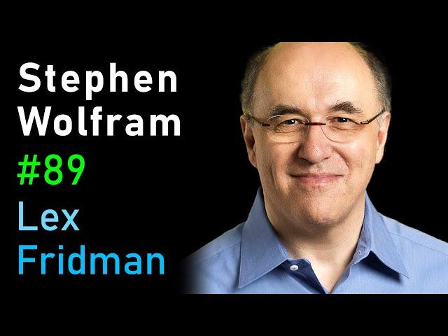 Stephen Wolfram: Cellular Automata, Computation, and Physics | Lex Fridman Podcast #89