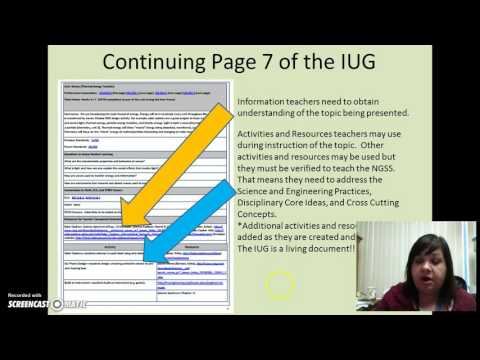 Part 3 How to Support Science Teachers Planning with IUG
