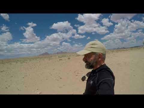 africa part 2 over land Namibia to Botswana