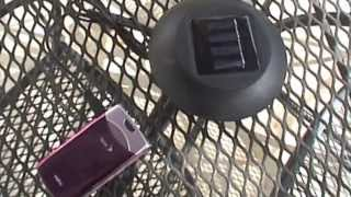 Lynx Solar Cell Phone Charger