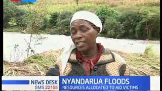 Nyandarua county establishes emergency desks in all police stations to respond to flood emergencies