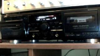 JVC TD-W718  Double Cassette Deck