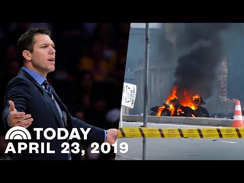 Kings Coach Luke Walton Accused Of Sexual Assault | Sri Lanka Bombings Were Revenge | TODAY Top News