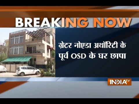 I-T department conducts raid at Noida authority former OSD's residence and offices