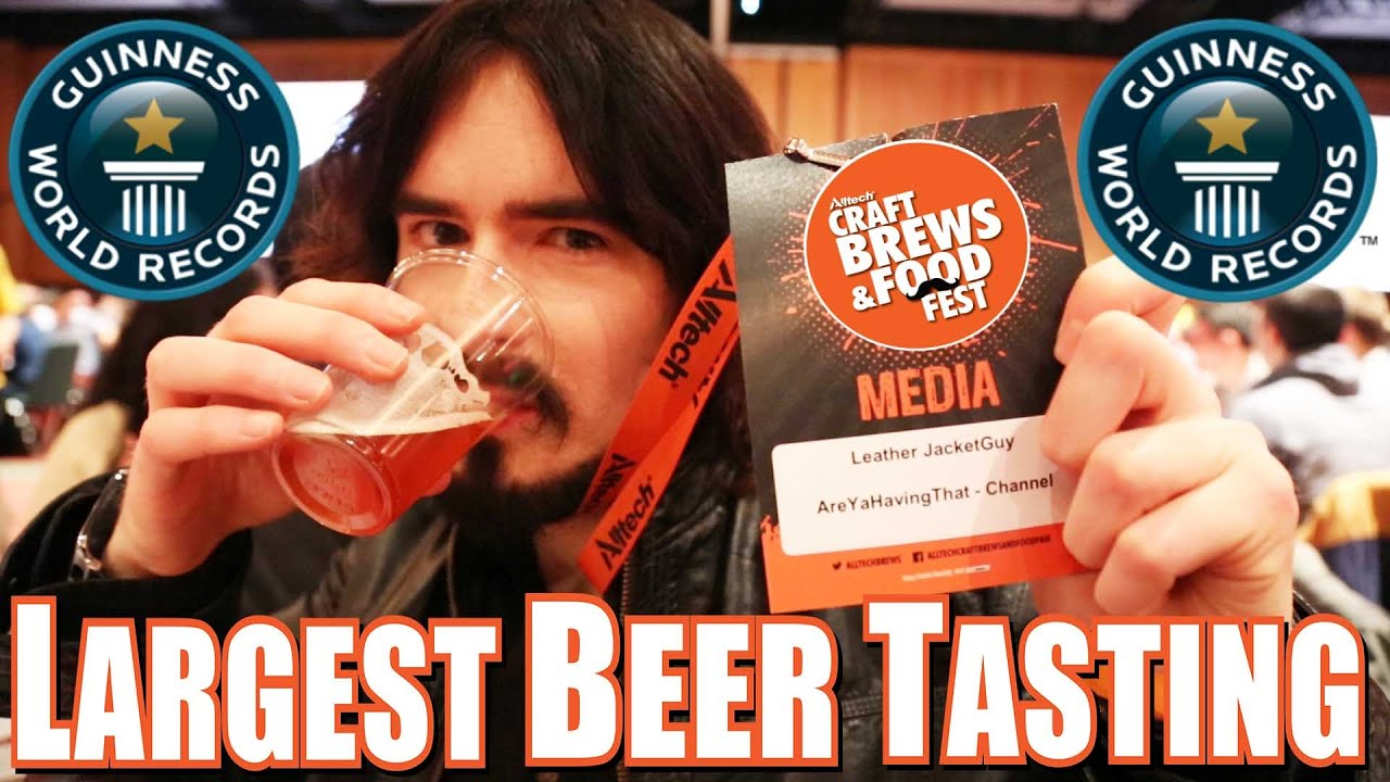 Guinness World Record - World's Largest Beer Tasting ...