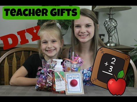 DIY Teacher Gifts | Easy Gift Ideas