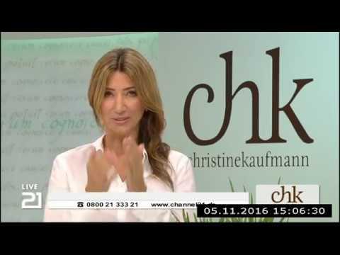Christine Kaufmann bei Channel21 am 05.11.2016 - Teil 1