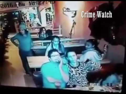 Watch Woman stealing bag at Spur in Cape Town