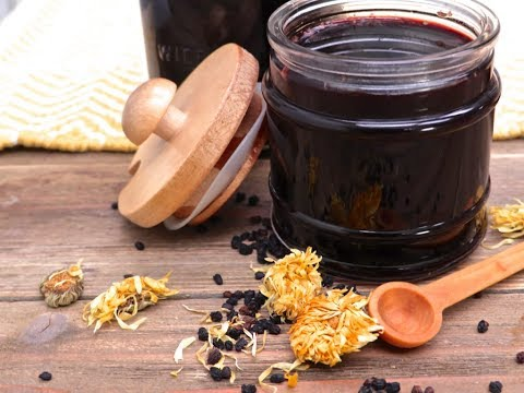 954b09c0165 Pour tea into elderberry mixture and let cool until warm. Stir in honey and  apple cider vinegar. Pour into a mason jar and store in the refrigerator  for up ...