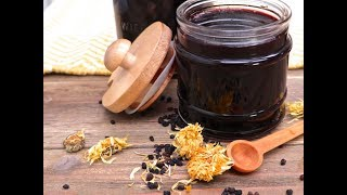 How to Make Cold & Flu Elderberry Syrup thumbnail