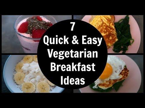 7 Easy Vegetarian Breakfast Ideas | Meatless Breakfast Recipes