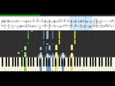 ABBA  Dancing Queen Piano Tutorial Synthesia