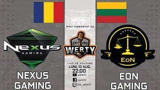 🔴(LIVE RO CS:GO) NEXUS GAMING (RO) vs. EON GAMING (LIT) - LIGA CEVO INTERNATIONALA