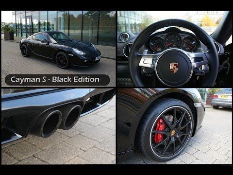 Porsche Cayman S PDK launch start, drifting & sports exhaust - The poor mans Porsche 911?