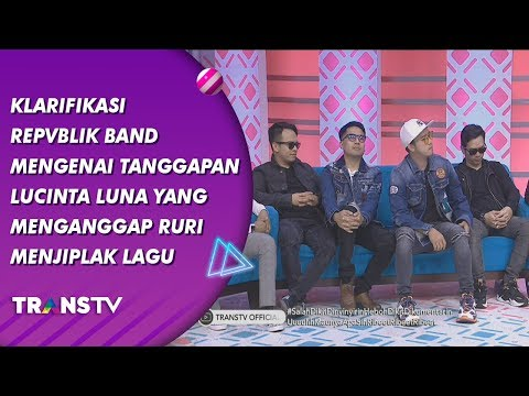 Download BROWNIS - Klarifikasi Republik Band Tentang Lucinta Luna Anggap Ruri Jiplak Lagu  19/7/19 Part 1 Mp4 baru