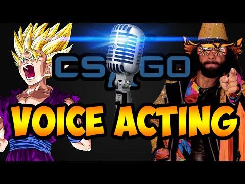 Voice Acting In CS:GO Matches