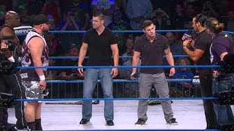 The Wolves Decide Final Match in the Tag Team Series (Oct. 1, 2014)