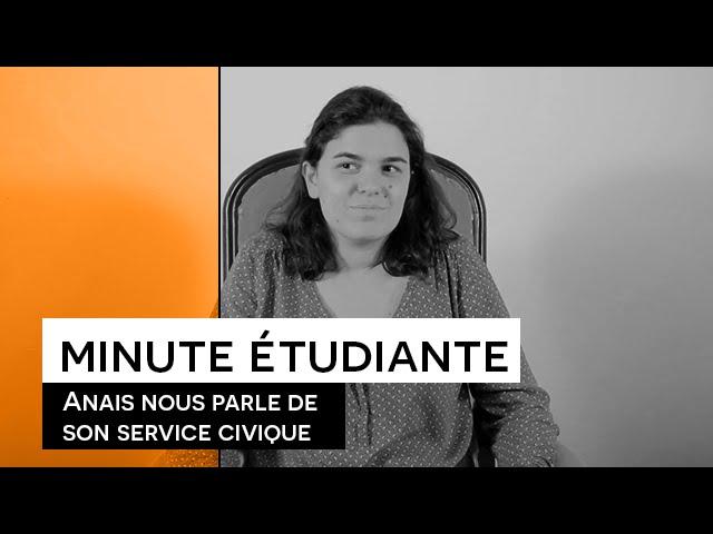 La Minute étudiante - Anaïs [Service civique à la FLSH]