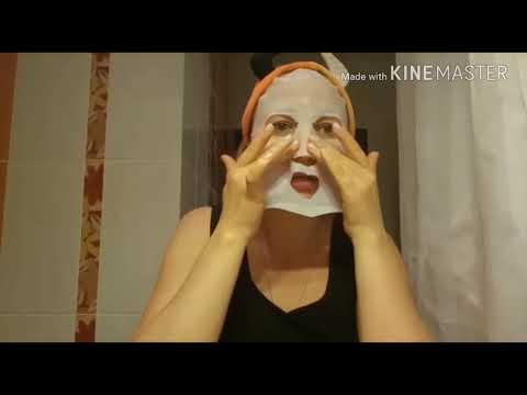 Корейские маски для лица. Часть 3 тканевая маска Molecula San-ake от бренда J:on