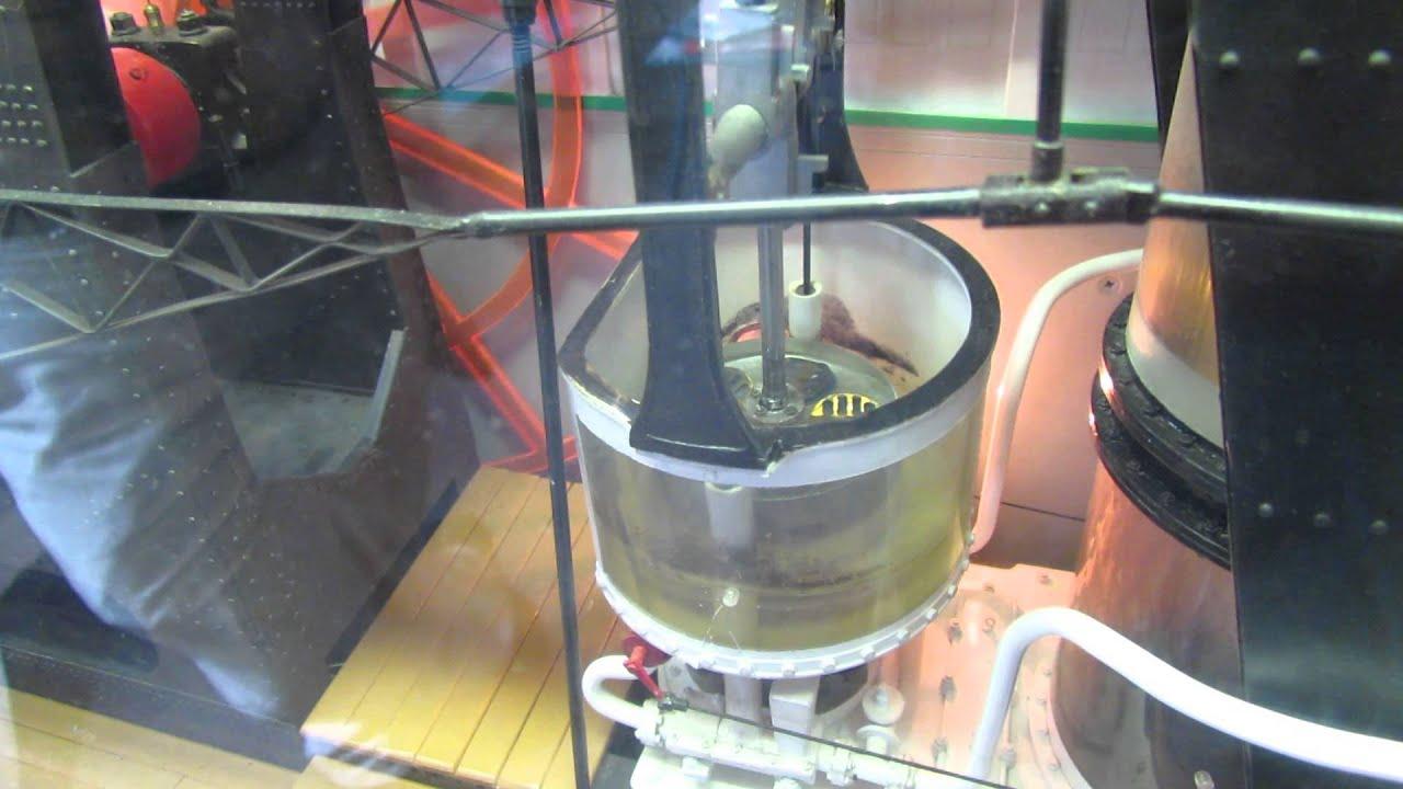 shelburne museum steamboat ticonderoga paddle wheel steam engine works youtube