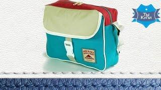 Молодежная синяя сумка Traum. Купить в Украине. Обзор
