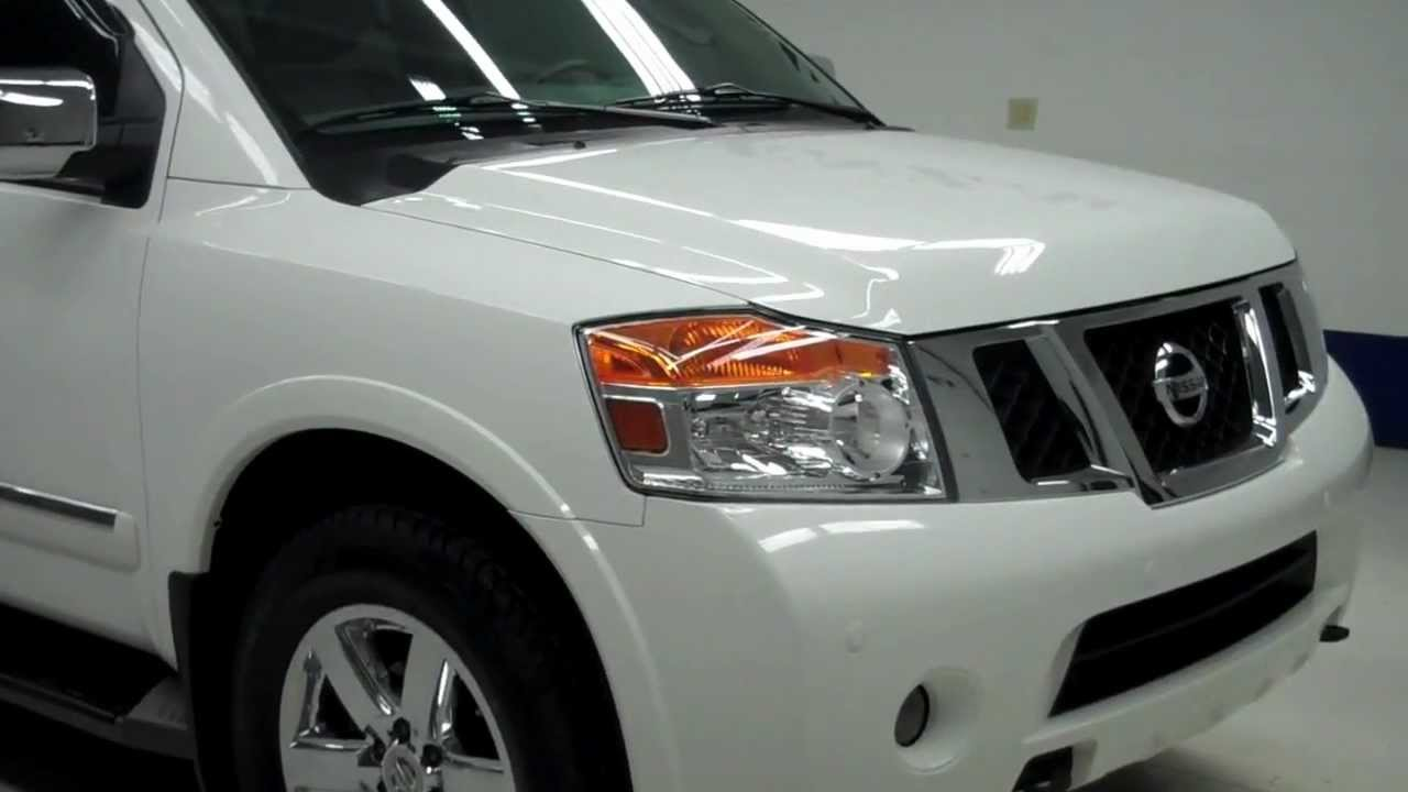 J  Nissan Armada Platinum Quads Third Nav Moon Tv Dvd  Inch Rims Www Lenzauto Com  Youtube