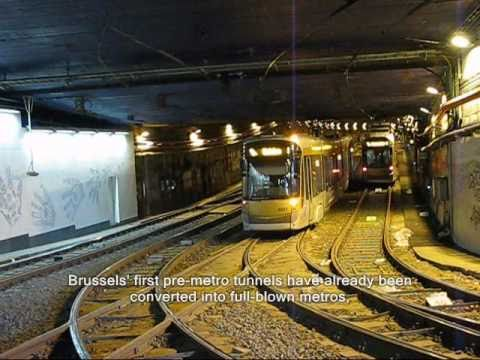 "The ""pre-metro"" of Brussels"
