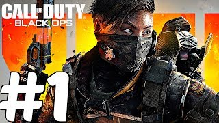 Call of Duty BLACK OPS 4 - Gameplay Walkthrough Part 1 - Chaos (1080p 60fps)