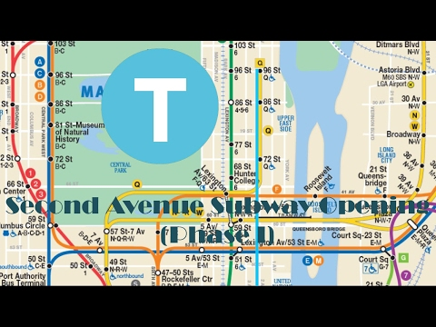 Second Avenue Subway Opening