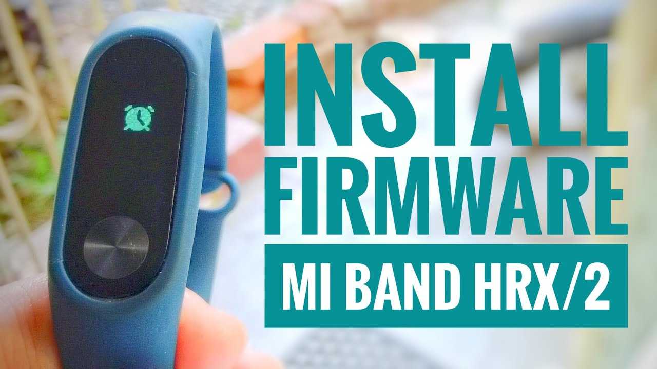 Mi Band 2 Firmware Update