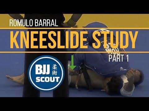 BJJ Scout: Romulo Barral Kneeslide Study Pt.1 (w/ Tomoyuki Hashimoto)