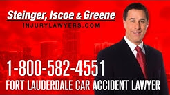 Fort Lauderdale Car Accident Lawyer - 1-800-582-4551