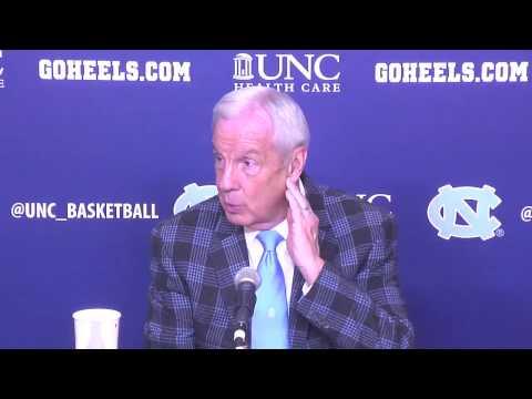 UNC Men's Basketball: Roy Williams Post Syracuse