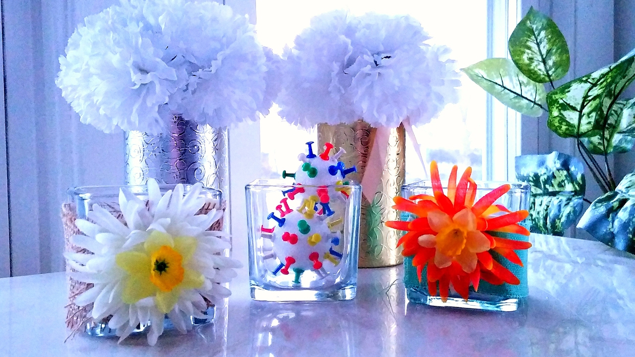 Spring Dollar Tree Diy For Home Office Decor Youtube
