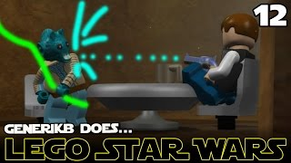 "LEGO STAR WARS The Complete Saga Ep 12 - ""HAN SHOT FIRST!!!"""