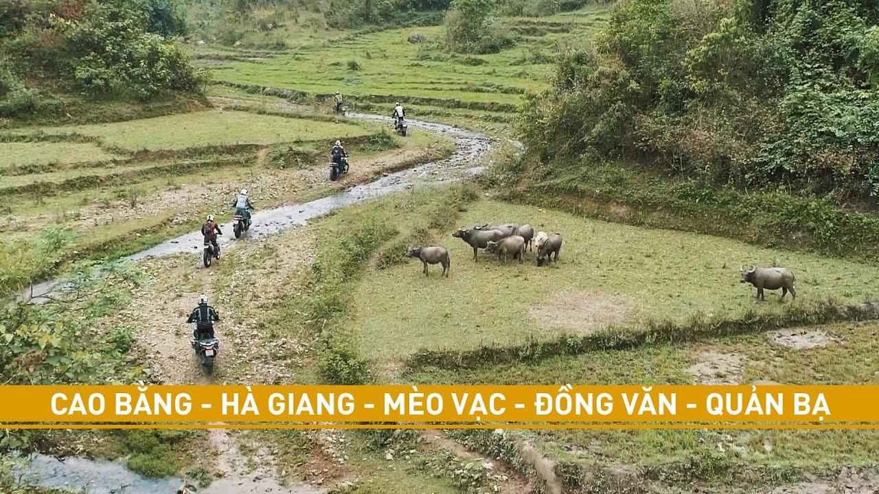 Cao Bằng - Hà Giang - Mèo Vạc - Đồng Văn - Quản Bạ // Cinematic Vlog