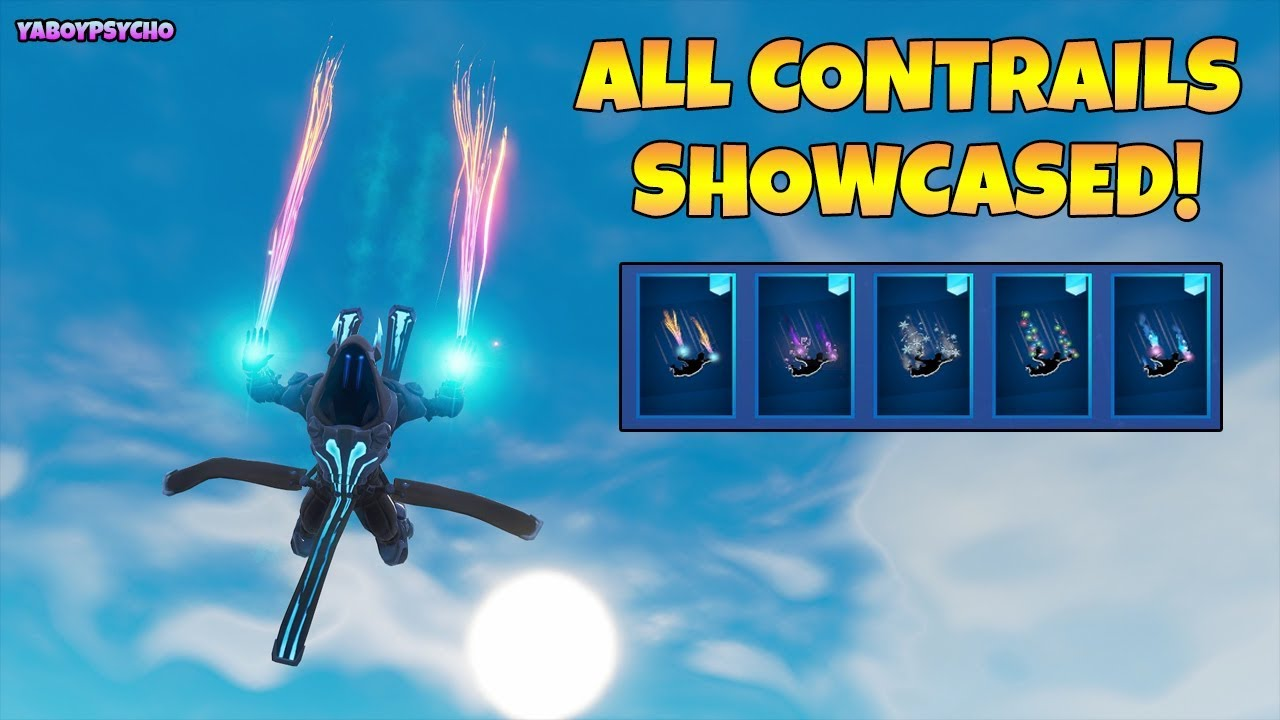 All Contrails In Season 7 Battle Pass Showcased In Game With Ice